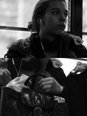 [La Mia Città] sui mezzi [Mani e Volti] (Urca) Tags: portrait blackandwhite italia milano bn ritratto biancoenero 2015 dittico 83312 manievolti lamiacittàsuimezzi
