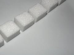 Macro Mondays - All in a row (vegeta25) Tags: white macro sugar cube cubes allinarow macromondays