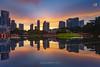 Epic Sunrise at KLCC Park (Nur Ismail Photography) Tags: lake reflection sunrise hdr nisi goldensunrise colorfulsunrise simfoni raymaster nurismailphotography nurismailmohammed nurismail frozenlite