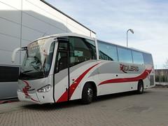 Yeovil Town F.C. Team Coach (5asideHero) Tags: century town fc ltd yeovil cya 255 irizar ridlers
