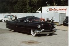 Cadillac Custom (Lowrider2905) Tags: film car analog vintage germany deutschland us gm hamburg meeting oldschool ami v8 treffen farbfoto