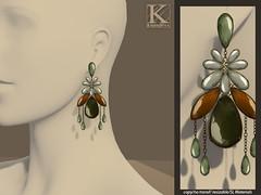 (Kunglers) Cintia earrings - Citrine (AvaGardner Kungler) Tags: crystal diamond earrings on9 kunglers avagardnerkungler statementjewelry kunglersextra avakungler