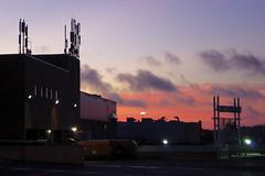 Skyline at the mall (thomas.erskine) Tags: nov city fall nova skyline clouds mall dawn mac ns mic scotia dartmouth 2015 hfx 20151110imgp7322croplev
