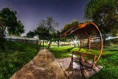 Al parque en la noche (ricardogz10) Tags: parque méxico mexico san sony pedro leon garcia león monterrey nuevo banca garza garcía spgg a6000