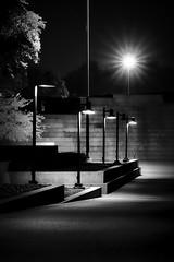 Fort Worth After Dark (Neilheeney) Tags: park longexposure bw canon dark mono lowlight noir texas tx powershot fortworth afterdark g7x