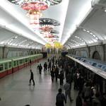 Nordkorea, Metro in Pjöngjang