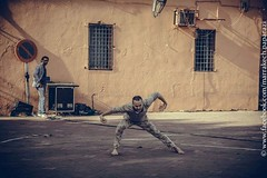 2015-03-14_Méchanique des B(ea_i)ts_Marrakech_10 (omnivion) Tags: méchaniquedesbeaits omnivion marrakech maroc performance pierrehenriramboz ph jamaaelfna dimitritsiapkinis festival onmarche