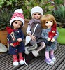 Fairyland family.... (dambuster01) Tags: fairyland mini fee tanned chloe littlefee ante normal yosd jointed bjds tinies tiny msd customfaceupbyviridianhouse dolls