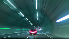To the core of it (dlorenz69) Tags: tunnel auto car highway motorway expressway autobahn running geschwindigkeit speed long exposure langzeitbelichtung blur driving fahren