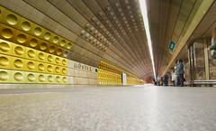 MUSTEK (Escipió) Tags: praha prague praga metro subway publictransport lines perspective longexposure mustek