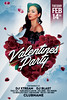Valentines Party Flyer (AyumaDesign) Tags: advertising club dj electro techno valentine valentines valentinesday festival party partyflyer flyer flyertemplate flyerparty heart holiday celebrate celebration concept clean minimal dove dope cloud nature love loveday model sexy girl couple dinner date romantic romance