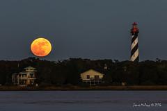 12/13/2016 Gemini Full Moon (James Kellogg's Photos) Tags: gemini full moon st augustine florida maritime light house