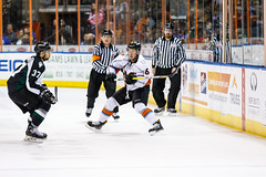 "Missouri Mavericks vs. Utah Grizzlies, December 28, 2016, Silverstein Eye Centers Arena, Independence, Missouri.  Photo: John Howe / Howe Creative Photography • <a style=""font-size:0.8em;"" href=""http://www.flickr.com/photos/134016632@N02/31924391626/"" target=""_blank"">View on Flickr</a>"
