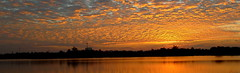 Sunrise.. Nov 30, 2016..  Kalasin,  Thailand (larryoien) Tags: sunrise thailand lumixlx5 reflection totallythailand digitalcompact travellight