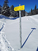 im Arzmoos (aNNa schramm) Tags: winter winterlandschaft winterlandscape schnee schneelandschaft eisundschnee wegweiser landschaft sport snowshoehiking berg mountain outdoor