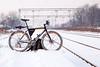 Commuted (Boris Mrdja) Tags: bike bicikl bicikla biciklo zima winter snow sneg led voz beovoz stanica zemun zemunpolje zemunskopolje altina beograd belgrade srbija serbia 2017 commute commuteing commuting