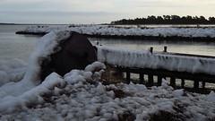 After the storm! (mpersson60) Tags: sverige sweden gotland fårösund is ice hav sea brygga bridge