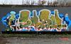 Graffiti Skatezone (oerendhard1) Tags: graffiti streetart urban art rotterdam skatezone capelle meanr casm mile shek japiekrekel jiminycricket