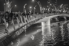 The end of the line (jaredlucow) Tags: sony a7s street singapore 50mm mitakon night asia
