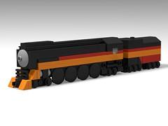Micro Daylight (Bowtied Trombone) Tags: mini micro lego train daylight