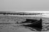 Patera en el Estrecho. Punta Paloma. Tarifa. Cádiz. Spain. (Rafa Velazquez) Tags: boat patera cadiz tarifa bnw refugee