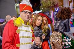 Puerto de Indias en el Carnaval de Águilas (Murcia) 2017
