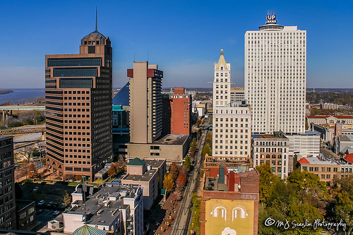Downtown Memphis, Tennessee