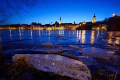 River of Ice (mattrkeyworth) Tags: eis rivermain kitzingen frozen river germany ilce7r2 sonya7rii batis18 batis18mm