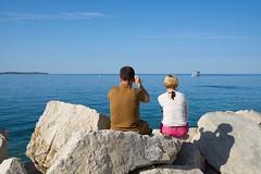 Couple (Michal Soukup) Tags: family trip vacation autumn outdoor nikond600 piran slovenia si nikkor35mmf18g