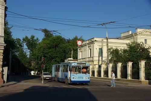 Irkutsk trolleybus VMZ-170 189 withdrawn in 2010 ©  trolleway