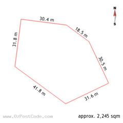 131 London Circuit, Canberra 2601 ACT land size