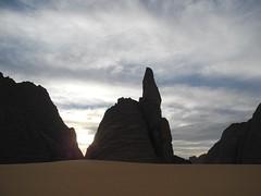 Chad Tibesti NE (ursulazrich) Tags: tschad chad ciad tchad tibesti sahara afrika africa afrique rocks mountains clouds wolken klima climate rain drought