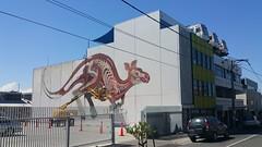 Nychos (WIP)...Collingwood, Melbourne... (colourourcity) Tags: streetart streetartnow streetartaustralia graffiti art awesome melbourne burncity colourourcity colourourcitymelbourne original since1977 nychos kanagroo roo bigred nychostheweird rabbiteyemovement