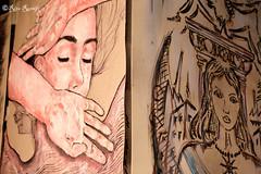 """Roma. Circolo degli Illuminati. Live painting by Pier the Rain, Lus57 for 5 Pointz """"The Street Art Factory"""" (R come Rit@) Tags: italia italy roma rome ritarestifo photography streetphotography streetart arte art arteurbana streetartphotography urbanart urban wall walls wallart graffiti graff graffitiart muro muri artwork streetartroma streetartrome romestreetart romastreetart graffitiroma graffitirome romegraffiti romeurbanart urbanartroma streetartitaly italystreetart contemporaryart artecontemporanea artedistrada underground circolodegliilluminati circoloilluminati circolo music night 5pointz thestreetartfactory cowlick artexhibition livepainting piertherain lus57 ostiense portraits portrait ritratti ritratto"""