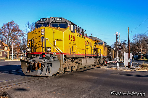 UP 6526 | GE AC44CW | NS Memphis District