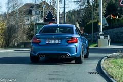 BMW M2 (aguswiss1) Tags: bmwm2 bmw m2 mgmbh fastcar supercar bluecar switzerland sportscar cruiser racer