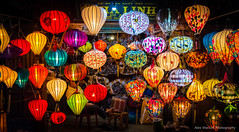 Lantern rainbow (AlexWatson Photography) Tags: vietnam asia hoian hoi an lantern chinese new year travel adventure photography backpacking shop magic beautiful colourful nam culture lanterns art newyear village colour dayjob night lowlight