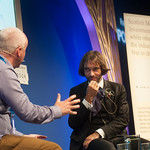 Cédric Villani chats to Chair Brian Meechan