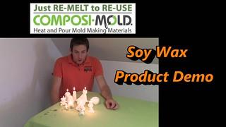 ComposiMold's Soy Wax Product Demo (Make a Custom Olaf Birthday Cake Candle and More!)