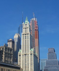 Woolworth Building (tom_2014) Tags: old city nyc newyorkcity urban usa newyork building classic architecture america us manhattan famous broadway landmark icon spire american woolworth northamerica metropolis neogothic iconic woolworthbuilding