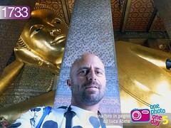 Foto in Pegno n 1733 (Luca Abete ONEphotoONEday) Tags: gold bangkok buddha religion agosto 29 thailandia oro tempio 2015 1733 statuta