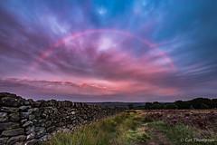 Red bow (catt1871) Tags: sunset landscape evening rainbow peakdistrict peaks eyam