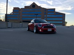 F56 headlights (jeepkid703) Tags: lights 1 head wheels running mini s led cooper daytime avid f56 coupe 2014 drl r58