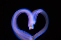 Heart (Enerielibon) Tags: light lightpainting colors heart cameratoss