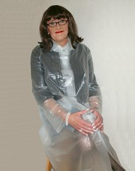 Plastic Mac (Miss Pakamac) Tags: plasticraincoat plasticmac pakamac