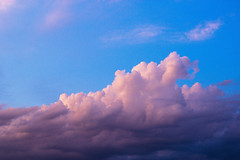 Clouds (matejpaluh) Tags: above pink blue sunset sky cloud beautiful up clouds outside outdoor croatia fresh vsco
