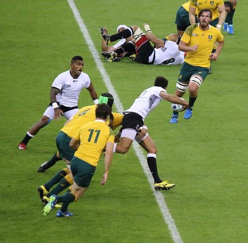 Fiji v Australia, Rugby World Cup