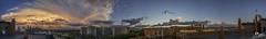 Panoramica Zaragoza - Adrian Sediles (Sediles) Tags: storm clouds atardecer zaragoza panoramica nubes tormenta aragon zgz actur sediles adriansediles blogadriansedileses fotosediles