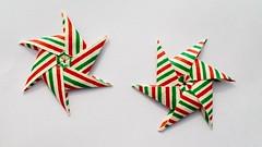 Origami Modular stars (Andrey Hechuev | Андрей Хечуев) Tags: hpbdstar andreyhechuev andriyx paperchiyogami chiyogami striped origami origamimodular modularorigami origamimodularstar modularstar origamistar star stella etoile stern estrella estrela zvezda papiroflexia papiroflexiamodular modulares modulari colormulticolor macro closeup tiny units6 happybirthday millerighe