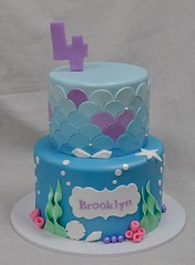 _DSC0757 (jennywenny) Tags: birthday cake pastel mermaid